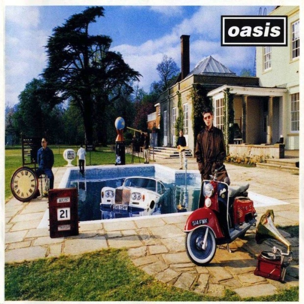Oasis Be Here Now Cover